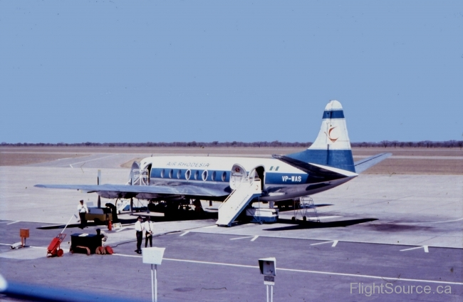 Air Rhodesia, Vickers Viscount 782D