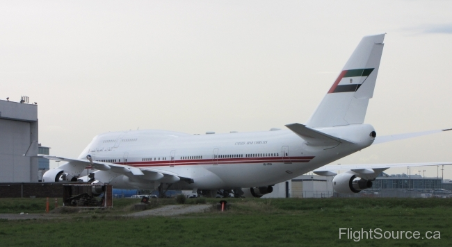 UAE Dubai Air Wing Boeing 747-422 A6-HRM