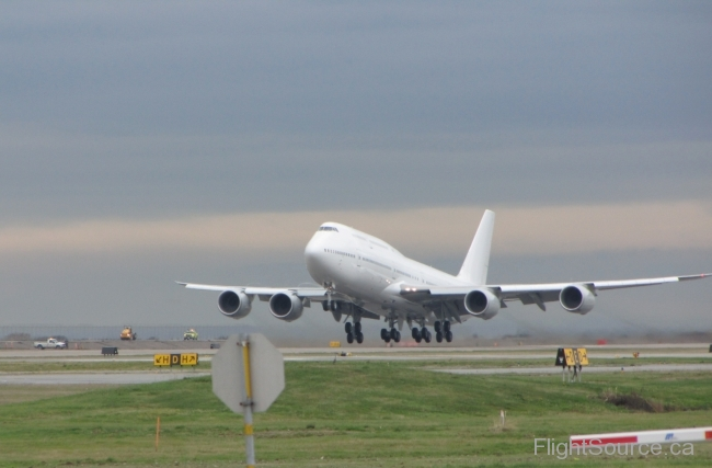 Private Boeing 747-8LQ N455BJ