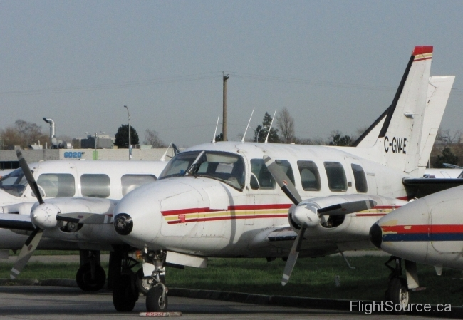 Candian Air Charters Piper Navajo C-GNAE