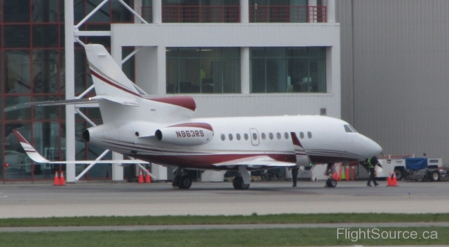 Dassault Falcon 900EX RJH Wings N963RS